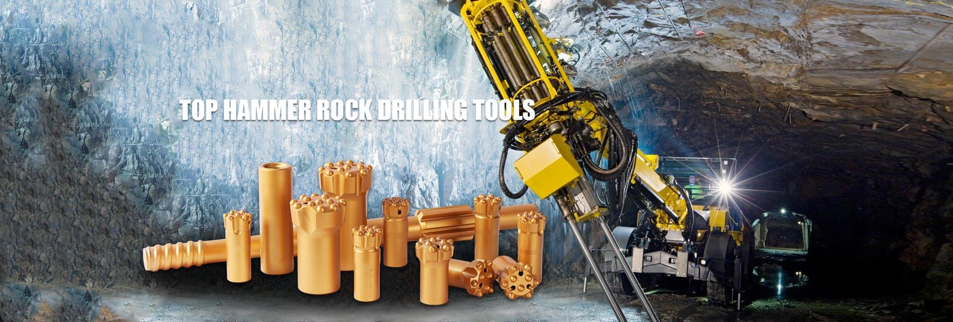 Top Hammer Rock Drilling Tools