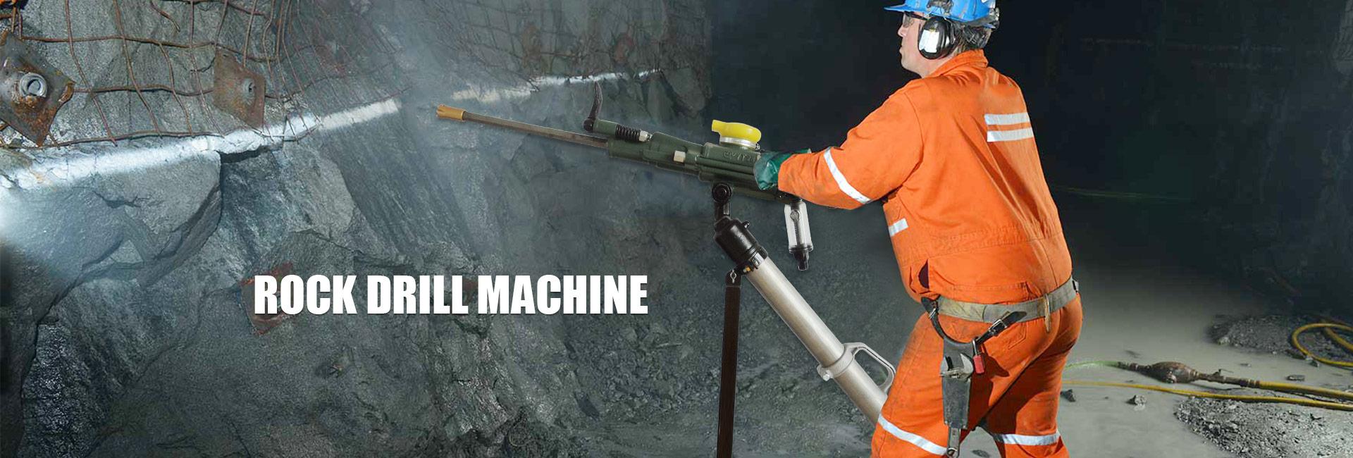 Rock Drill Machine